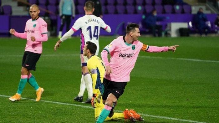 Live Streaming Barcelona vs Eibar Liga Spanyol di TV Online, Beban Saat Lionel Messi Tak Main