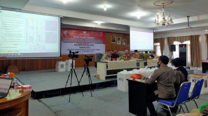 Lagi, Denny Indrayana Ungguli BirinMU, Rekapitulasi Pilgub Kalsel di HST H2D Raih 55,7 Persen