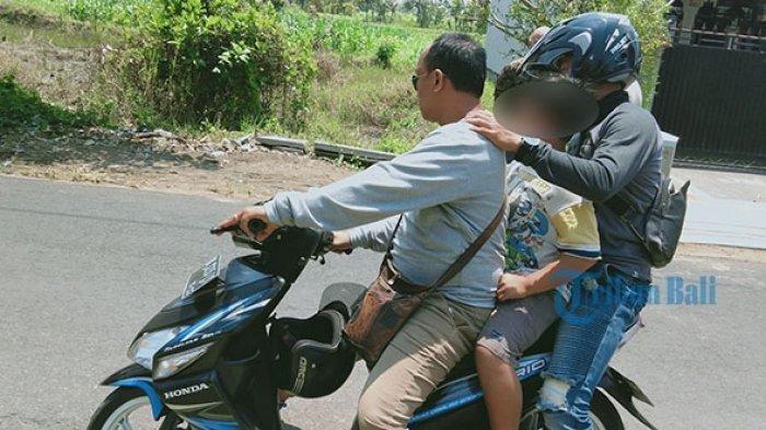 Sempat Dibekap Pakai Tisu dan Dibonceng Motor, Bocah di Bali Ini Selamat Dari Upaaya Penculikan
