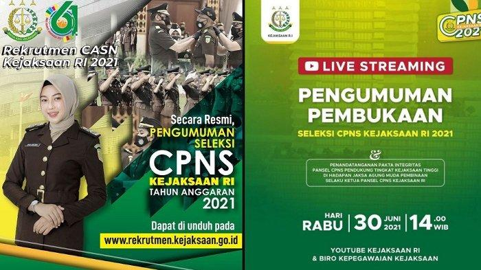 Rekrutmen CPNS Kejaksaan 2021.