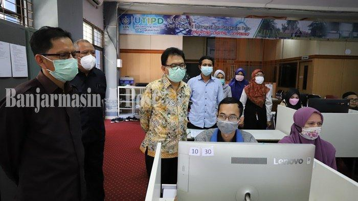 Hari Terakhir Pelaksanaan UM-PTKIN UIN Antasari Banjarmasin, Empat Persen Peserta Tidak Ikut Ujian