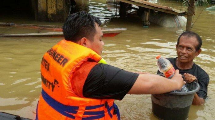 Banjir Kalsel, Korban Banjir di Satui Tanbu Perlukan Perlengkapan Balita dan Manula