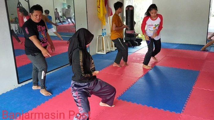Karateka Banjarmasin Rutin Berlatih Dua Kali Seminggu, Persiapan Bila Ada Lomba