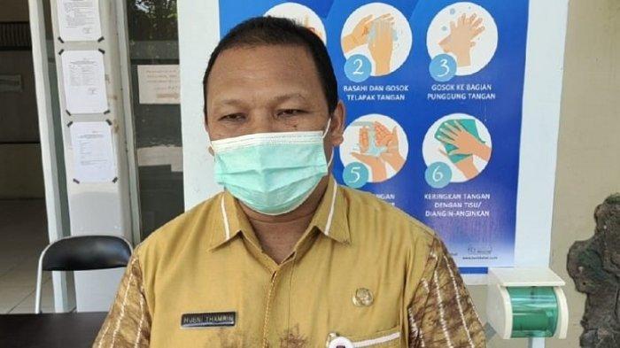 Sekretaris KPU Banjarmasin, Husni Thamrin menjelaskan rencana kedatangan Komisioner KPU RI Arief Budiman pada PSU Pilkada Banjarmasin, Senin (26/4/2021).