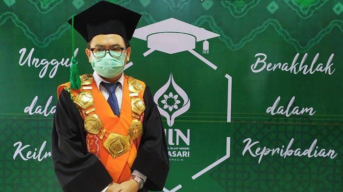 Rektor UIN Banjarmasin Harapkan Wisudawan Bermanfaat Bagi Masyarakat