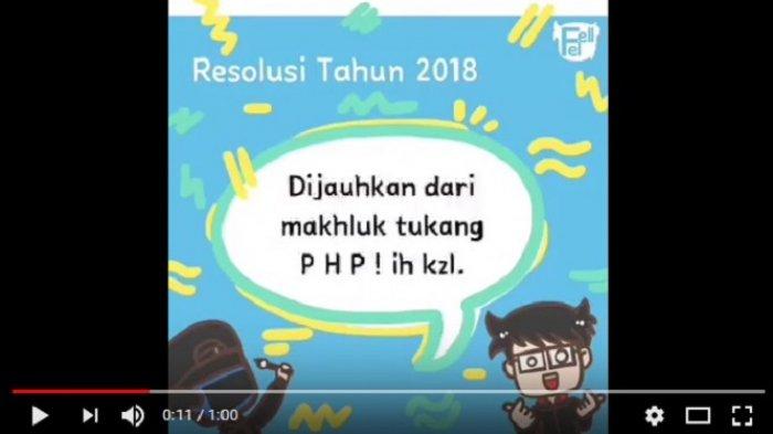 Resolusi Tahun 2018 Kids Zaman Now, 'Kurangin Konsumsi Micin' Hingga Balikan Sama Mantan