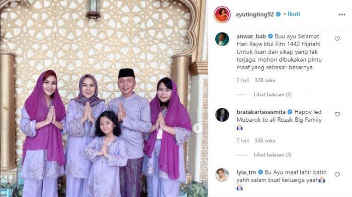 Respons Brata Kartasasmita pada foto lebaran Ayu Ting Ting