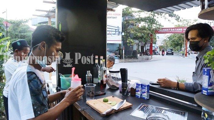 Kedai Retro Drink Banjarmasin, Sediakan Berbagai Menu dengan Harga Terjangkau