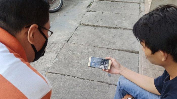 Cafe di Banjarmasin Tengah Dibobol, Pelaku Terekam CCTV Tak Kenakan Pakaian