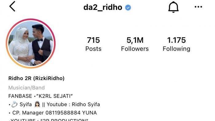 instagram Ridho