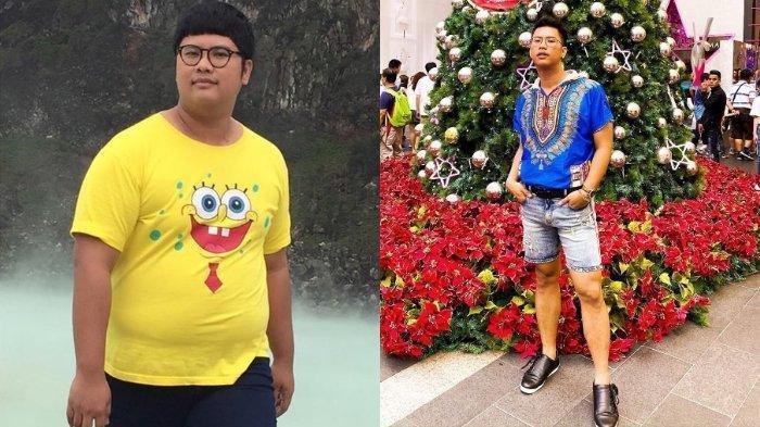 Aktor Ricky Cuaca Operasi Hidung Hingga Disebut Mirip Roy Kiyoshi, Berat Badan Turun 60 Kg