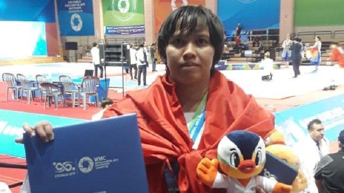 Setelah Raih Perak di Korea Selatan, Ridha Incar Emas di Kejuaraan Asia Sambo di India