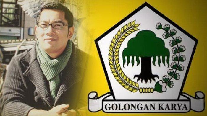 Partai Golkar Tak Berkomunikasi dengan Ridwan Kamil Usai Tarik Dukungan