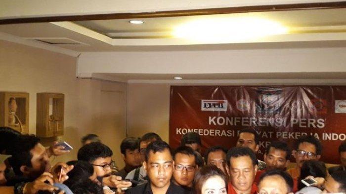 May Day : KRPI Pimpinan Rieke Diah Pitaloka Sampaikan Lima Maklumat ke Presiden Jokowi