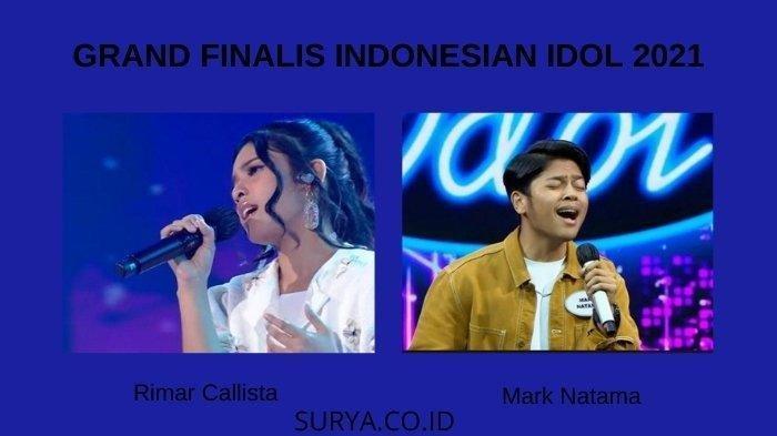 LINK Nonton Live Streaming Grandfinal Indonesian Idol 2021 di RCTI, Rimar & Mark Bersaing Malam Ini