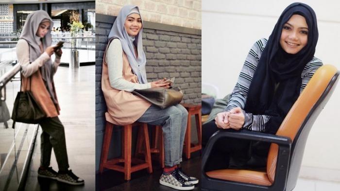 Rina Nose Menuai Komentar Miring Gara-gara Lepas Hijab, Ini yang Dilakukan Komika Uus