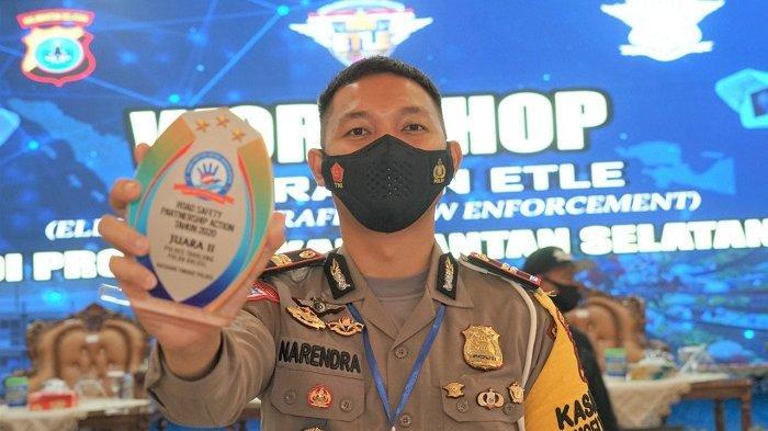 Satlantas Polres Tabalong Raih Penghargaan Road Safety Partnership Action 2020