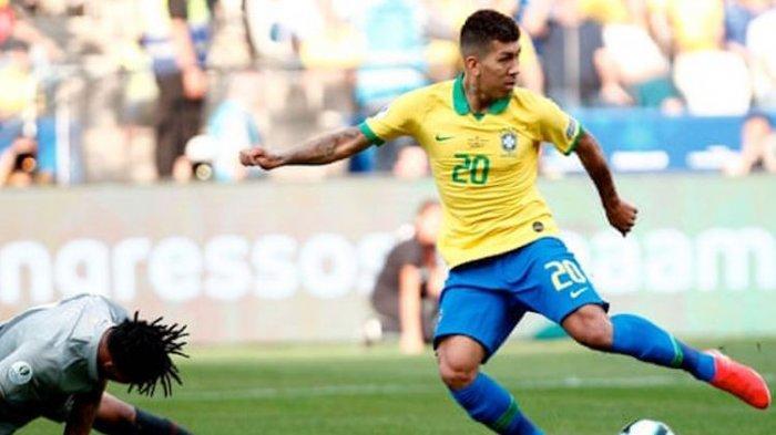 Skor 1-1! Hasil Brazil vs Senegal di Brasil Global Tour 2019, Firmino Cetak Gol Ini Cuplikan Golnya