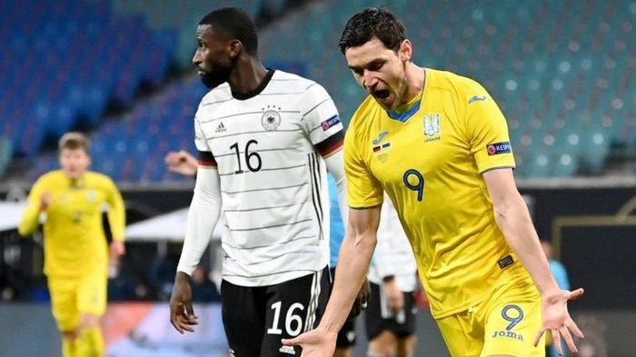 Hasil Euro 2021 Grup C Ukraina vs Makedonia Utara, Skor 2-0 di Babak Pertama