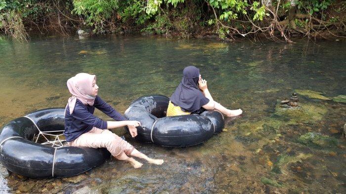 Wisata Kalsel - Sungai Alam Riamadungan Tanahlaut Cocok untuk River Tubing