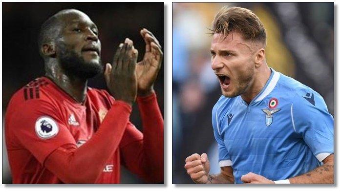Adu Buas Bomber Ganas di Laga Lazio Vs Inter Milan, Romelu Lukaku Vs Ciro Immobile, Ini Faktanya