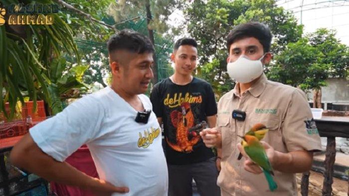 Penampakan Kandang Burung Raksasa di Rumah Irfan Hakim, Bikin Alshad Sepupu Raffi Ahmad Syok