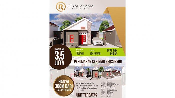 Royal Akasia Residen Tawarkan Hunian Berkelas Hanya 300 Meter dari Jalan Utama Trikora
