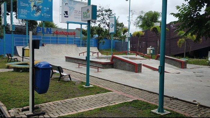 Fasilitas RTH Taman Pintar di Jalan Panglima Batur Kota Banjarbaru