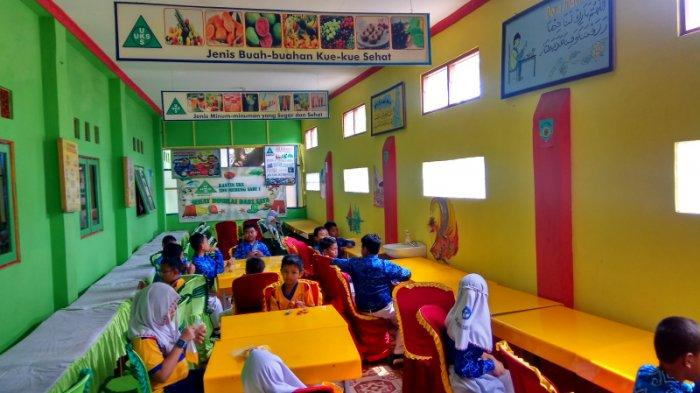 Miliki Fasilitas Cuci Tangan Bersih, Air Limbah di Kantin SDN Murung Sari 1 HSU Dimanfaatkan Lagi