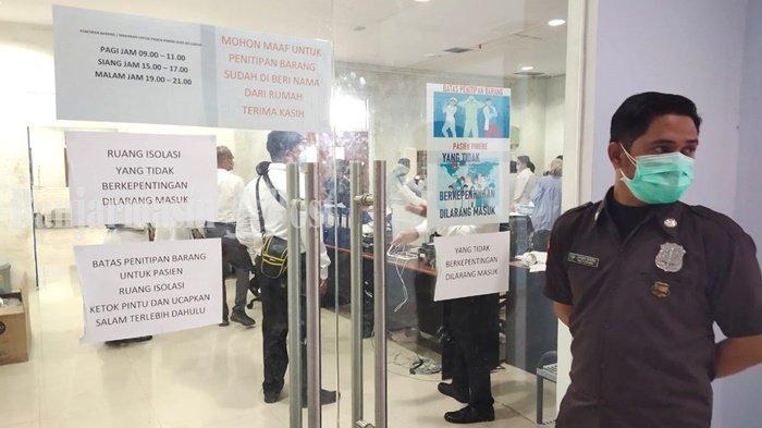 Sempat Mencapai 90 Orang, Pasien Covid-19 di RSUD Sultan Suriansyah Banjarmasin Tersisa 5 Orang