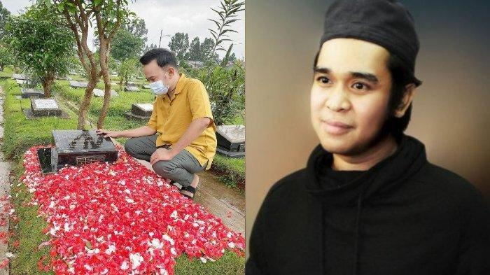 Tanpa Betrand Peto dan Sarwendah, Ruben Onsu Posting Penampakan Makam Olga Syahputra