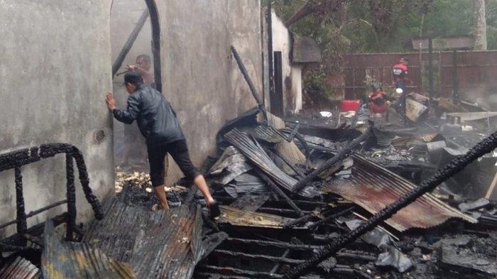 Rumah Camat Barabai Terbakar, Begini Kronologisnya