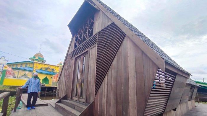 Berkunjung ke Objek Wisata Kalsel Rumah Lanting di Banjarmasin, Ada Apa di Sana?