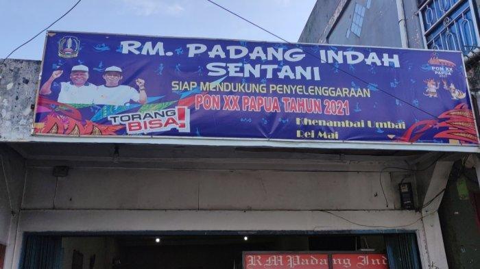 PON XX Papua 2021 - Omzet Pedagang Makanan di Kabupaten Jayapura Meningkat