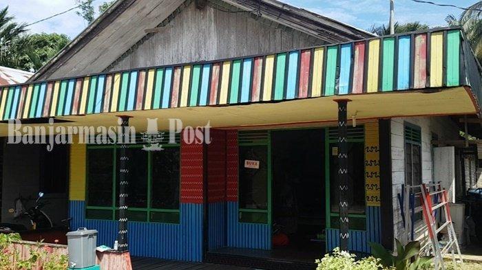 Sentra Perajin Kain Sasirangan di Timbaan Kabupaten Tapin