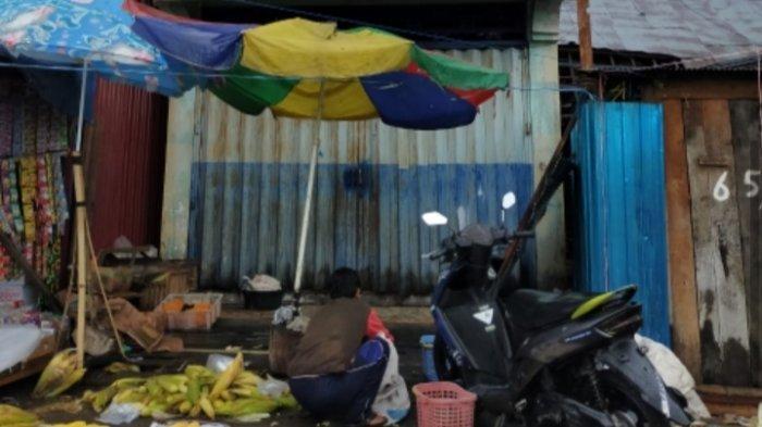 Toko Makanan Kemasan Terbakar, Aktivitas di Pasar Nagara HSS Kalsel Tetap Normal