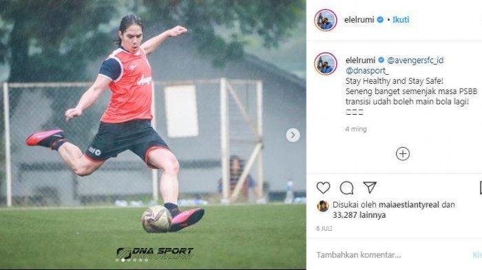 Kondisi Tubuh El Rumi Saat Gabung RANS Cilegon FC, Anak Maia Estianty Picu Reaksi Hamka Hamzah