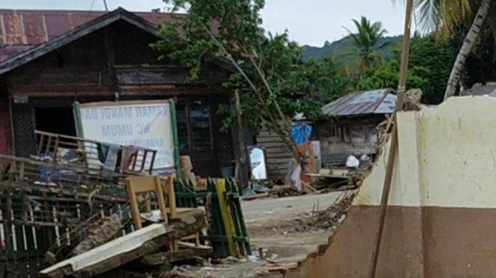Gedung SDN Baru di Desa Baru HST Rusak Parah, Kepsek Pastikan Belajar Tatap Muka Siswa di Tenda