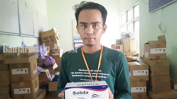 PSU Pilgub Kalsel, Pemilih di Martapura Kabupaten Dapat Masker Medis Gratis
