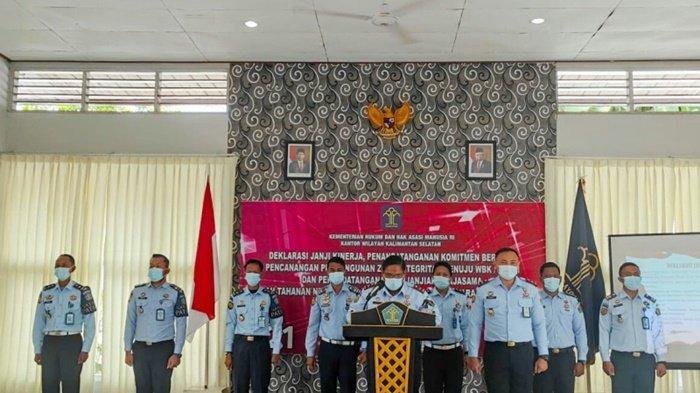 Rutan dan Lapas TanjungKalsel Berkomitmen MenujuWBK dan WBBM