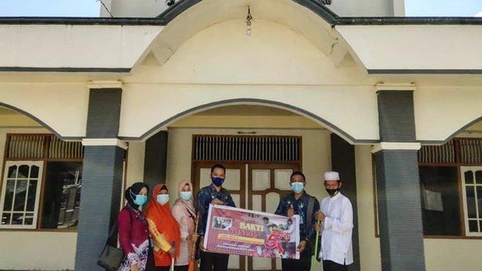Rumah Tahanan Tanjung Kalsel Berikan Peralatan Kebersihan untuk Tempat Ibadah