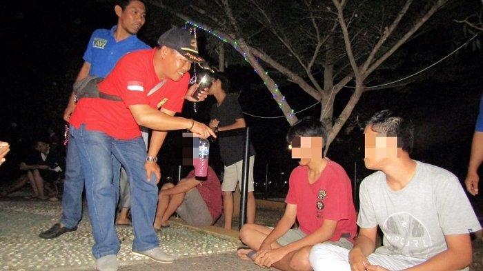 Belasan Remaja Terciduk Pesta Minuman Beralkohol, Dua Di Antaranya Pernah Direhab