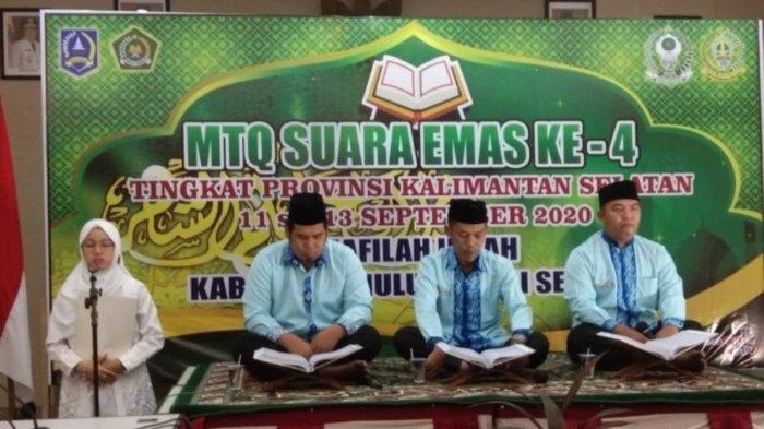 Qori HSS Raih Juara Tiga Saritilawah, MTQ Suara Emas ke-IV di Balangan