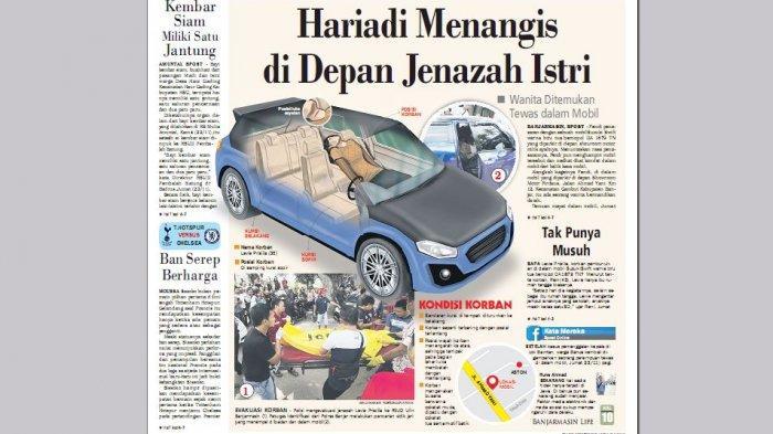 Sejak Kamis Malam, Suzuki Swift itu Terparkir di Pinggir Jalan, Penumpangnya Sudah Tak Bernyawa