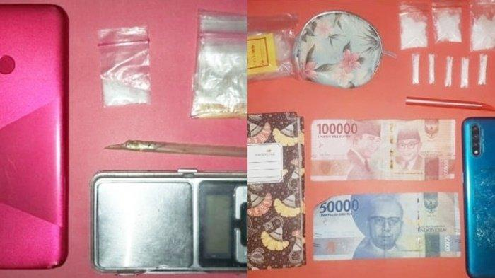 Anggota Satresnarkoba Polres Tanbu Amankan 2 Orang dan 9 Paket Sabu
