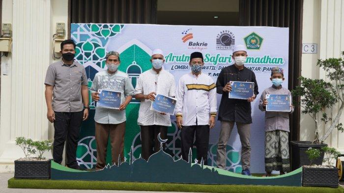 Pada masa pandemi ini, kegiatan lomba yang digelar PT Arutmin Indonesia dilaksanakan secara virtual dengan mengirimkan video kepada panitia lomba.