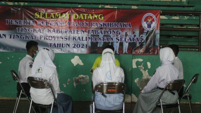 Tabalong Kirimkan Enam Pelajar Ikuti Seleksi Calon Parkibra tingkat Provinsi Kalsel
