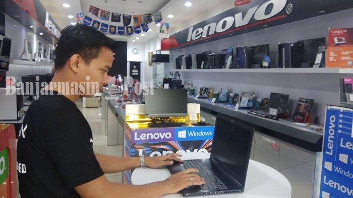 Penjualan Laptop Awal Tahun di Kota Banjarmasin Masih Stabil