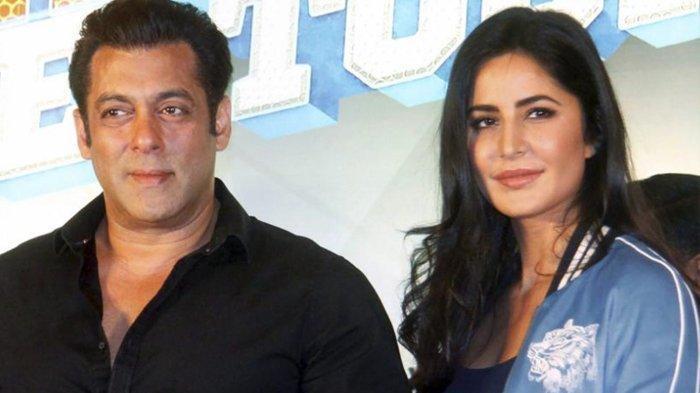 Salman Khan dan mantan kekasihnya, Katrina Kaif