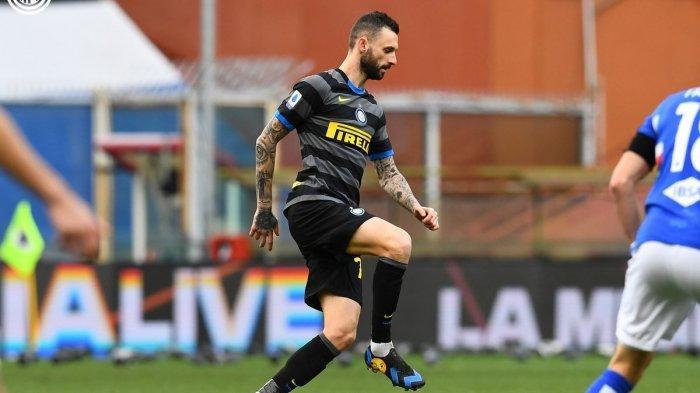 SKOR 1-2! Hasil Liga Italia Antara Sampdoria vs Inter Milan di Babak Pertama